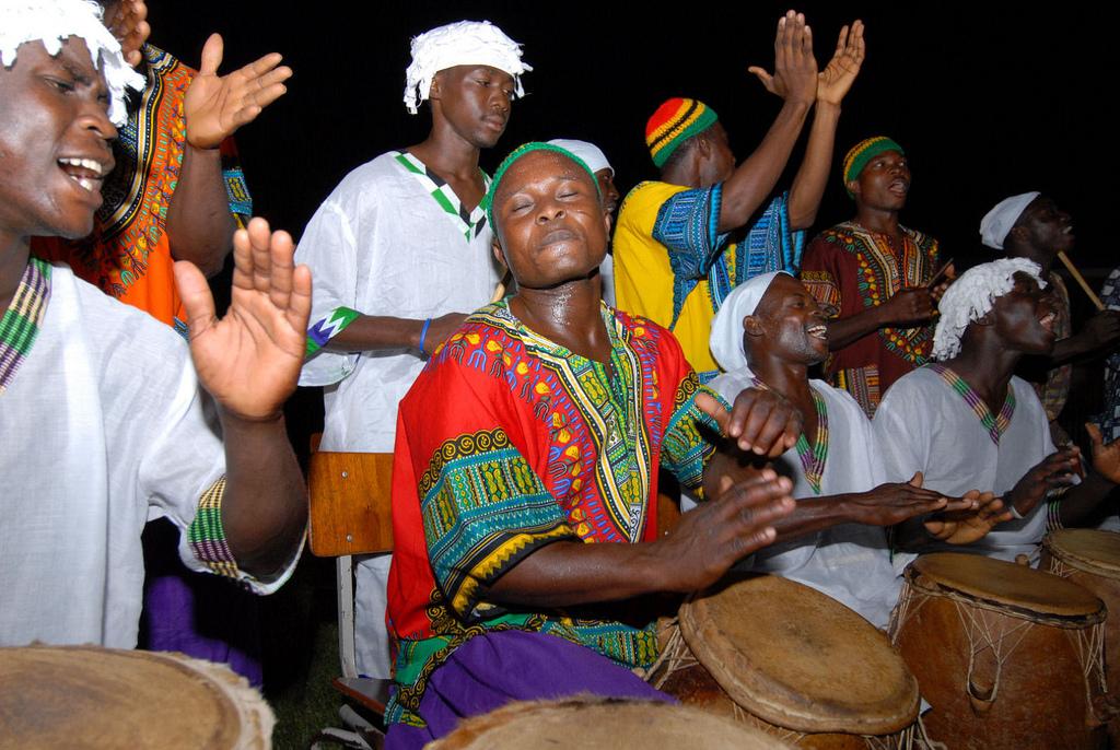 Praten met muziek: drumtaal in Nigeria
